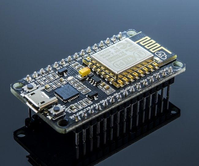 ABOUT- NodeMCU is an open source IoT platform. It uses the Lua scripting language, BUT this development board is now compatible to be programmed with Arduino IDEesp8266 12e is a great way to achieve IoT with anything in a very cost effective manner, The ESP8266 is like an Arduino with a builtin WiFI.FEATURES ==> --10 GPIOs D0-D10 & ADC A0--PWM functionality--Communicaiton = I2C , SPI , 1-Wire Note:- IT IS PREFERABLE TO USE THE LATEST VERSION OF ARDUINO IDE OR AT LEAST GREATER THAN v1.5...