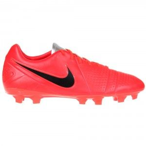 NIKE CTR360 Libretto III FG Football Boot Mens - Bright Crimson / Black