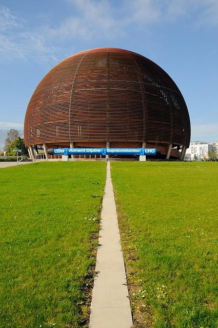 CERN wooden dome