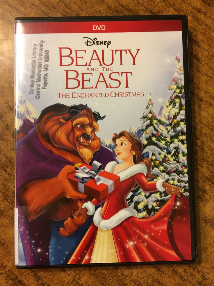 Beauty and the Beast bring Christmas to your living room.