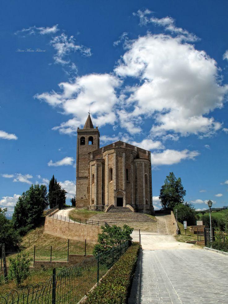 Church of Santa Maria della Rocca, Offida (Ascoli Piceno), Marche, Italy