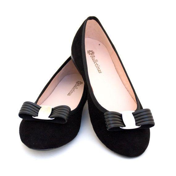Ballet Flats Naida Ballerina Pumps Leather Ballet by Balletinas