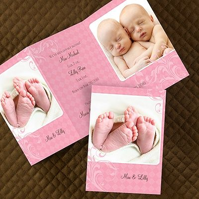 17 best Baby Birth Announcement Cards – Tri Fold Birth Announcement