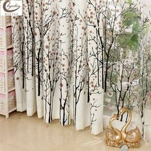 Fashion Curtain Window Cortina Bedroom Curtains for Living Room Curtain Free Shipping Kitchen Window Curtains(China (Mainland))