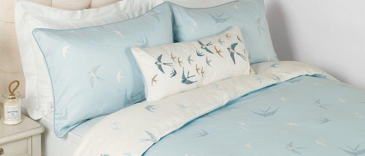 Bluebirds Duvet Cover Unique Beds, Laura Ashley Bluebirds Bedding