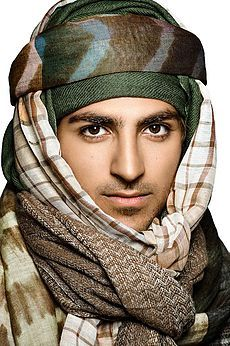 Exotic Kashmir Men's Scarves