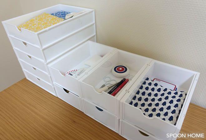 キャンドゥ スリム引き出しボックス ラック の収納アイデア 使い方をブログでレポート 収納 アイデア インテリア 収納 収納