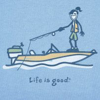 Gotta cast out your hook if you wanna catch a fish. #Lifeisgood #Optimism #Fishing