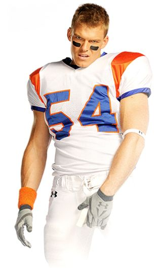Thad Castle... so hot... Going to miss Blue Mountain State now as the water boy for the football team ;)