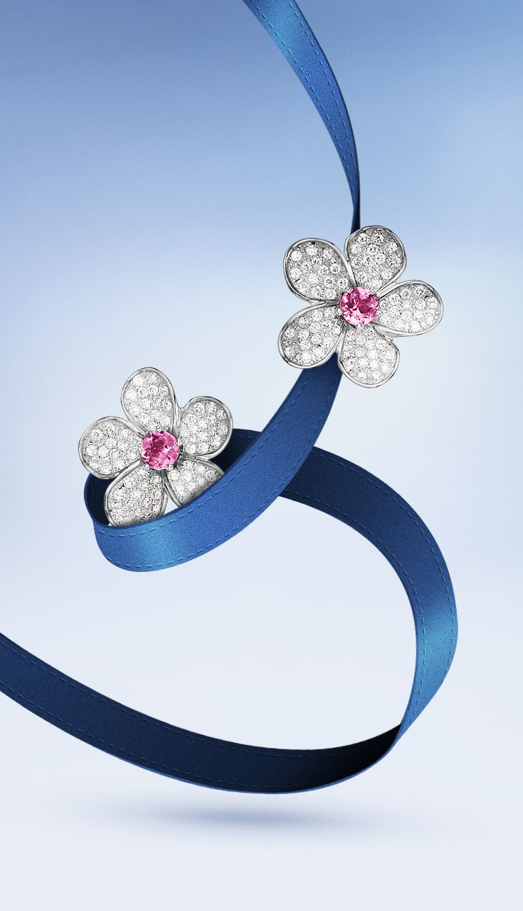 Shine with #Buchere Cherry Blossom earrings  #ThisIsForLove