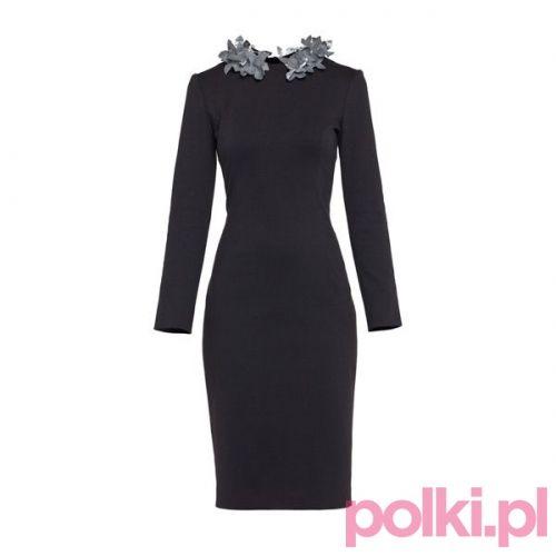 Sukienka z ozdobnym kołnierzykiem Blessus  #polkipl #sukienka