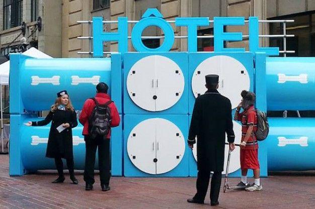Sleep Pod Hotel   FUTU.PL