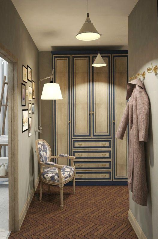 #interior #design #etiqstudio #hallway #pastel #wardrobe