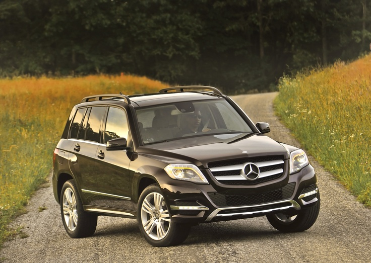The Mercedes-Benz GLK350. For more information, visit here: http:/