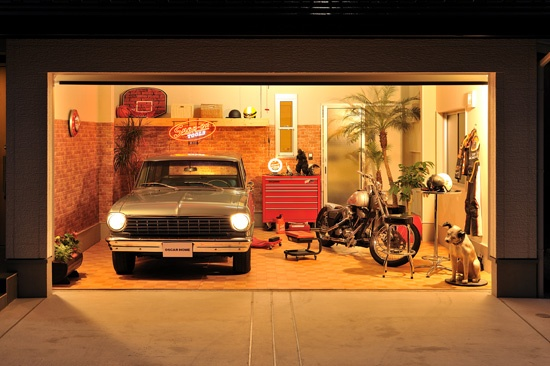 моей семьи можно ли сделать фотостудию в гараже которой справляется