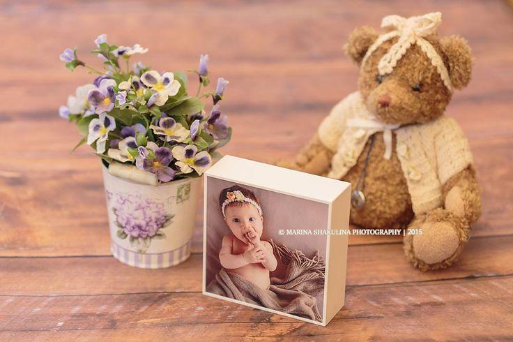 Fotografo di bambini - collezione Frames - Wood Box