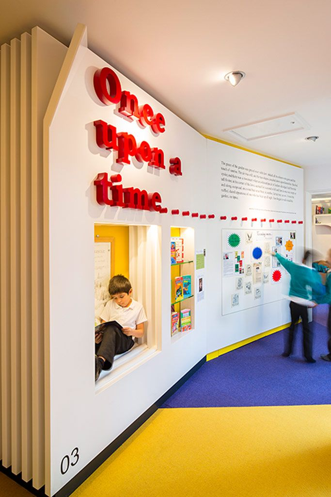 Credit: Daniel Shearing The Stephen Perse Foundation junior school asked architects chadewickdryerclarke to redesign an area of their school...