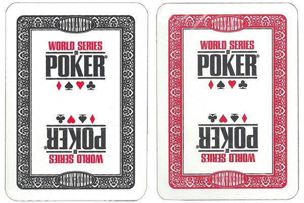 Brybelly GMOD-832.833 Modiano WSOP Plastic Playing Cards - Black/Red Decks