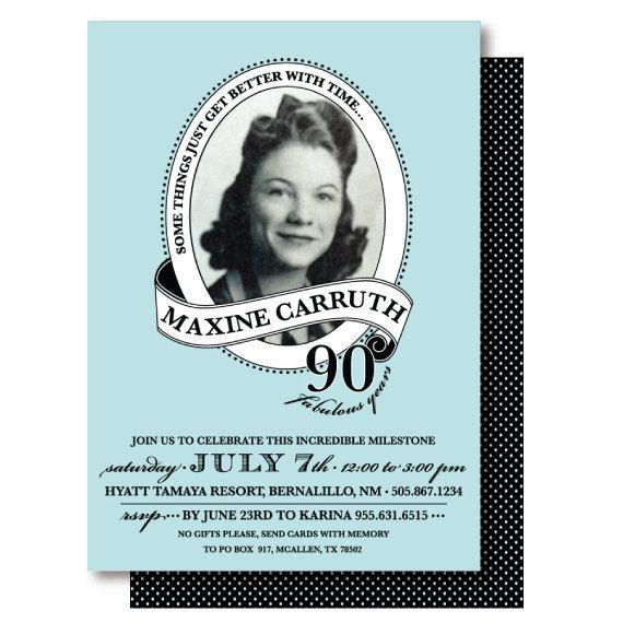 59 best Graces 100th Birthday images on Pinterest Birthday