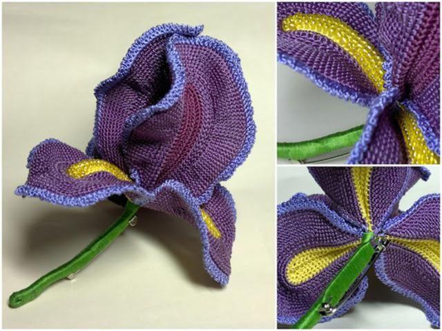 "gallery of crochet flower patterns, ""For beginners"" *snort*."
