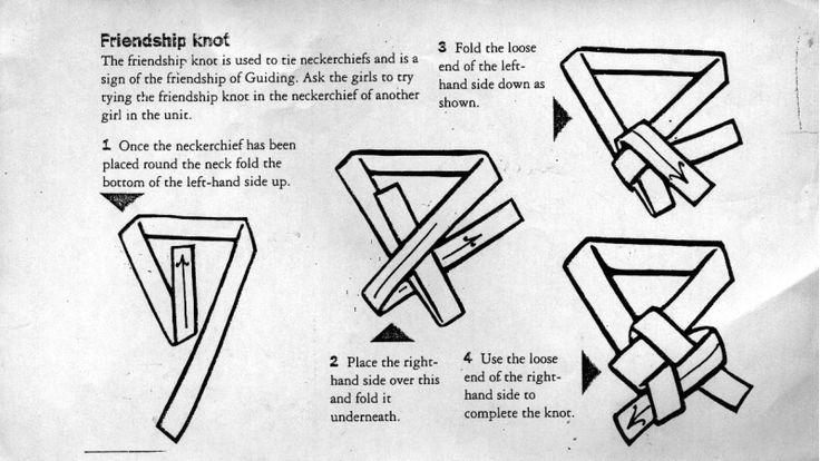 friendship knot neckerchief - Google Search