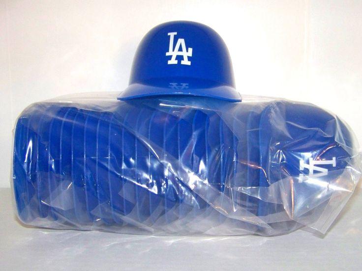 20 Los Angeles Dodgers Ice Cream Sundae Mini Helmets  #LA