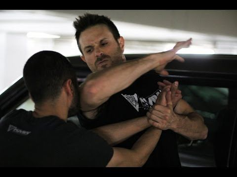 Choke Against the Wall Defense - Krav Maga Technique - KMW Krav Maga Self Defense w/ AJ Draven - YouTube