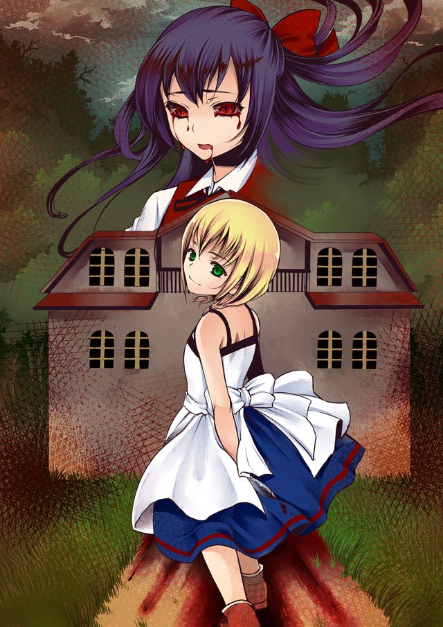 /Majo no Ie/#1406734 - Zerochan | The Witch's House / 魔女の家実況プレイ終わりました(´∀`) [2]