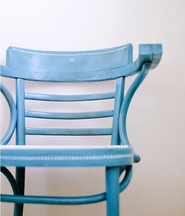 Click through to learn how stencils and paints from #marthastewartcrafts can help you add a personal touch to your furniture.Painting Furniture, Diy Things, Diy Furniture, Diy Crafts, Painting Add, Crafty Things, Furniture Refinishing, Crafts Tools, Blue Chairs