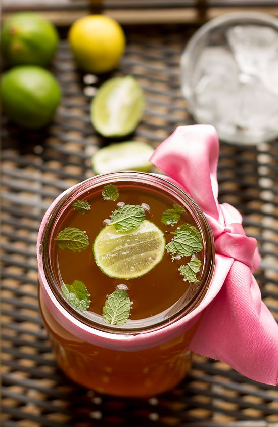 Lemon Iced Tea Recipe is an ideal thirst quencher with loads of lime and antioxidants in it. The good news is you could make the iced tea syrup at home.