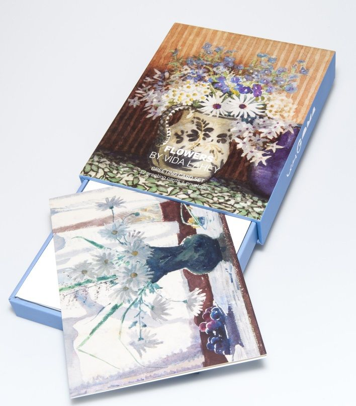 Flowers by Vida Lahey Greeting Card Box - Gallery Store