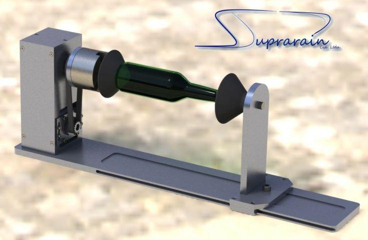 Accesorio rotativo para grabadora laser