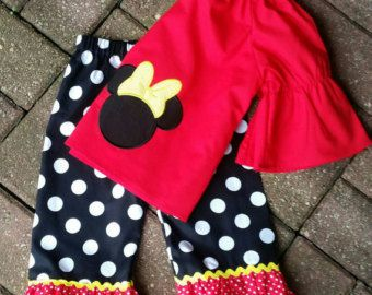 Minnie mouse clothing Minnie mouse outfit by SerenityroseBoutique