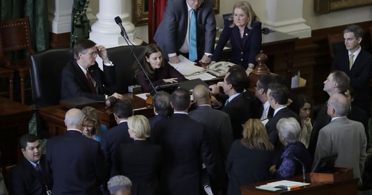 Texas legislature descends into chaos after GOP lawmaker sics immigration officers on protesters    Lawmakers scuffled briefly on the state House floor.