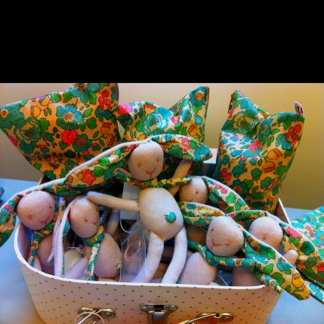 Liberties rabbit baby toys