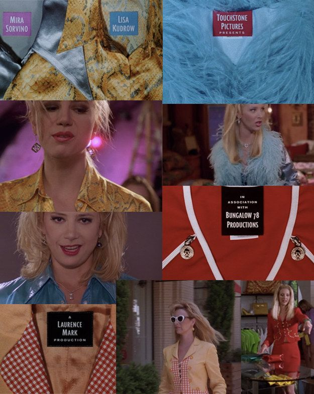 "The outfits in the opening credits are all inspired by something either Romy or Michele wears. | 22 Things You Missed In ""Romy And Michele's High School Reunion"""
