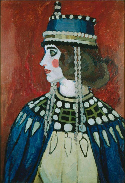 Vanessa Bell. Byzantine Lady, 1912