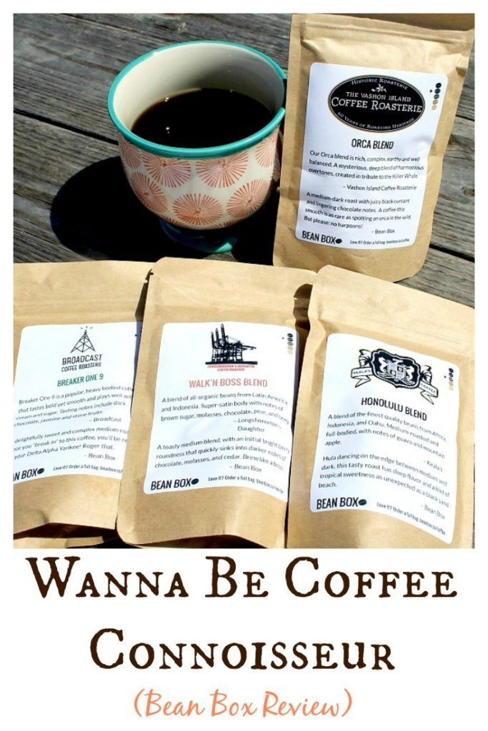 See my review of Bean Box fresh roasted coffee beans subscription sampler!  If you love coffee, you will LOVE this box!