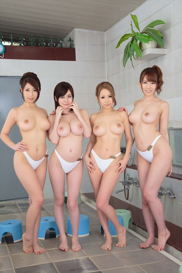 Hot japanese nude women