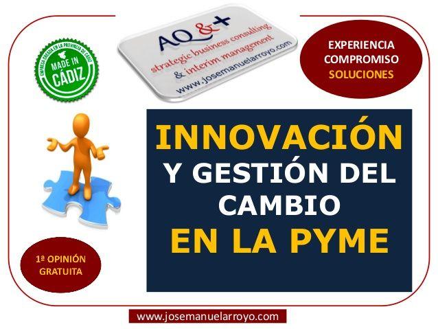 Creatividad, Innovación y Gestión del Cambio en la PYME.
