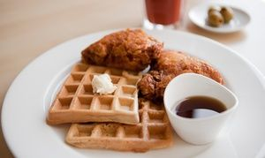 Groupon - Sunday Jazz Brunch for Two, Four, or Six at Red Cat Jazz Cafe (40% Off) in Downtown. Groupon deal price: $29