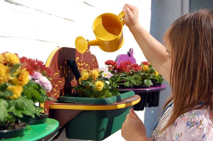 planters are perfect for getting little ones interested in all living things
