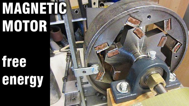 Free Energy Generator, Magnet Motor