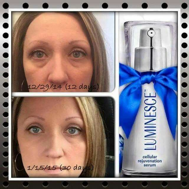 Luminese Before and After