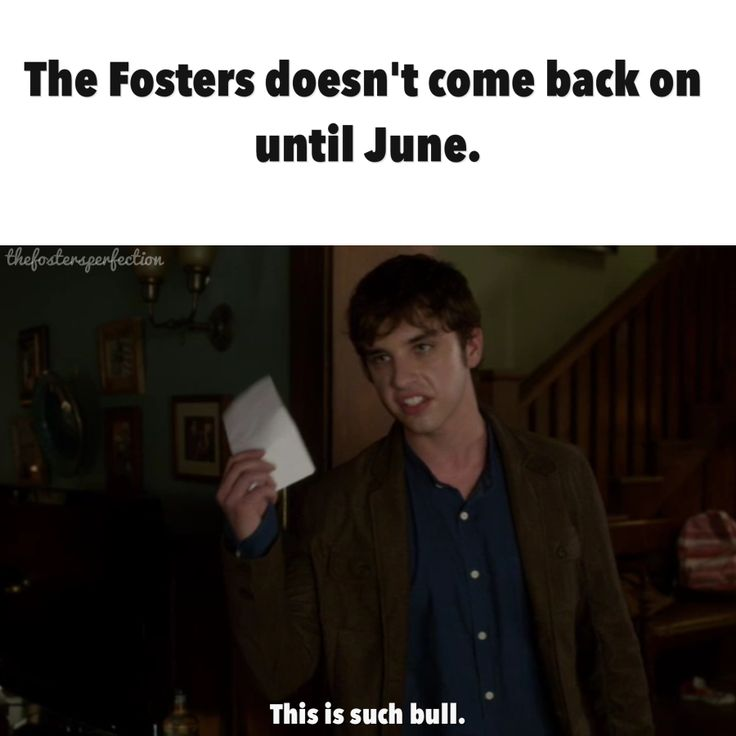 The Fosters doesn't come back on until June...... FIVE MORE DAYS OMG OMG WHOS WITH ME #fostersarehere