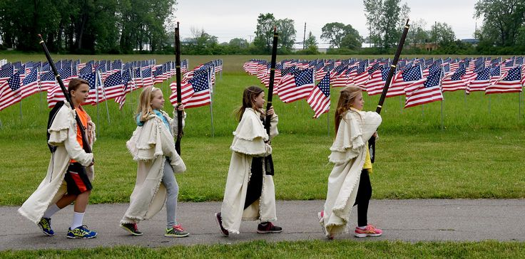 Click to see a photo gallery from The Monroe News of student tours at River Raisin National Battlefield Park in Monroe MI. The park honors a War of 1812 battle that was fought in Michigan.