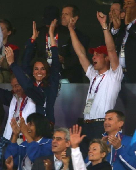 Kate Middleton witnesses Team GB history