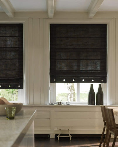 romans are the ideal treatment for a functional to suit the kitchen