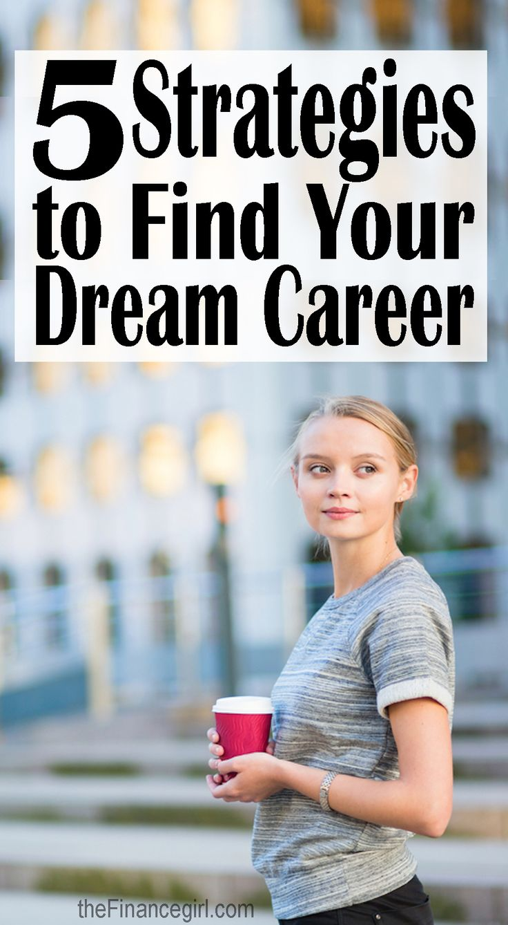 5 strategies to help you find your dream job (how to choose the best career for you). Learn exactly how you can find your dream career - and what I wish I knew. | Financegirl