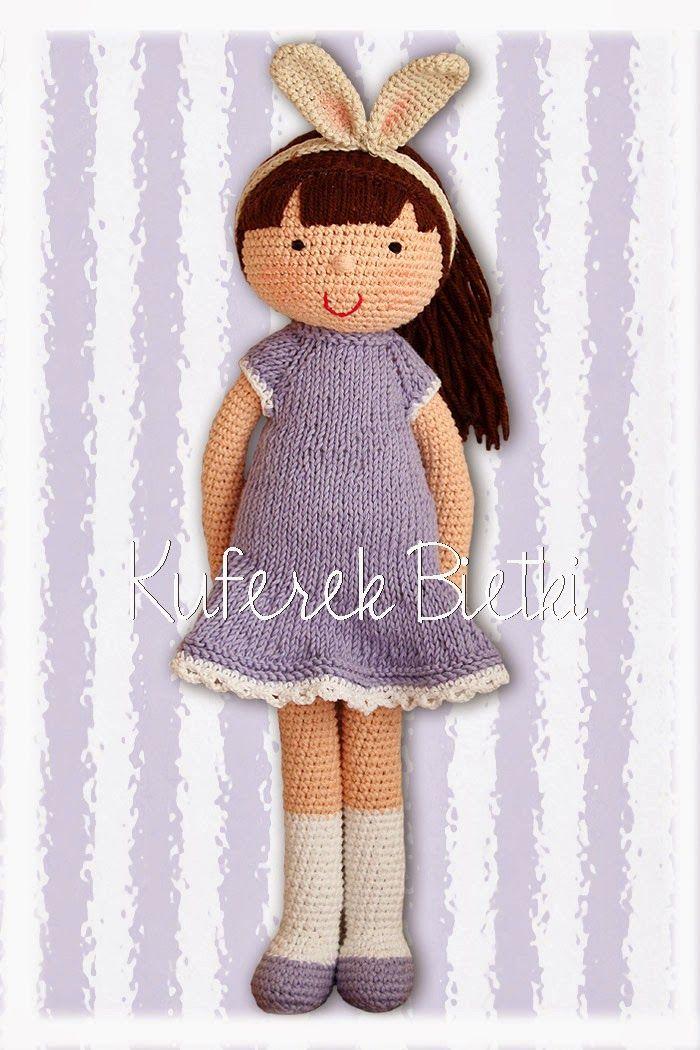 Kuferek Bietki: Ilza - lalka na szydełku/ Gehäkelte Puppe/ Crochet doll http://lalkimisie.blogspot.com/2014/03/ilza-lalka-na-szydeku-gehakelte-puppe.html